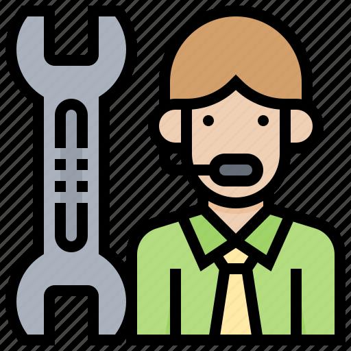 assistance, fix, problem, service, trouble icon