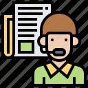 customer, listen, paraphrase, service, understand icon