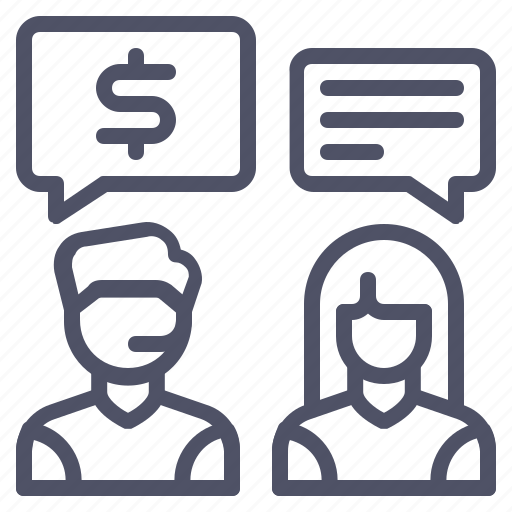 conversation, customer, discussion, help, price, service, support icon