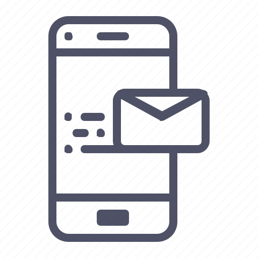 Customer, mail, message, care, notification icon