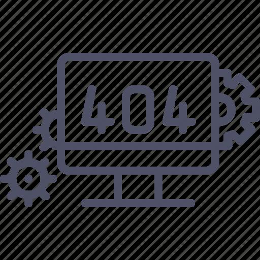 bug, error, found, maintenance, not, page icon