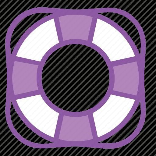 help, life, lifebuoy, saver, support, tube icon