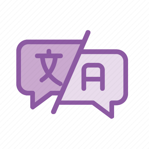 answer, help, language, question, support, translate, word icon