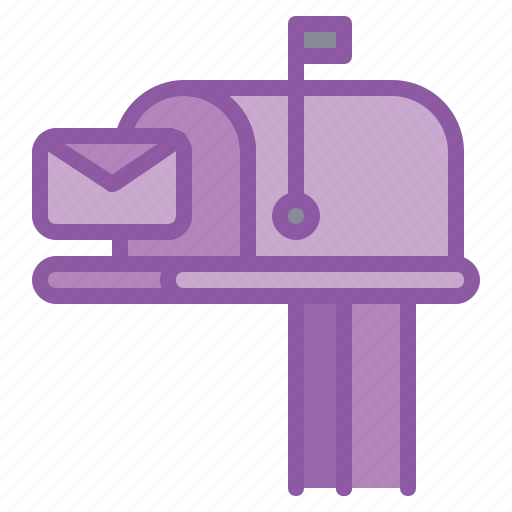 box, delivery, envelope, letter, post, postbox icon
