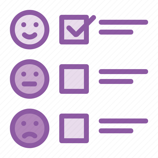 analysis, feedback, form, reaction, report, satisfication icon