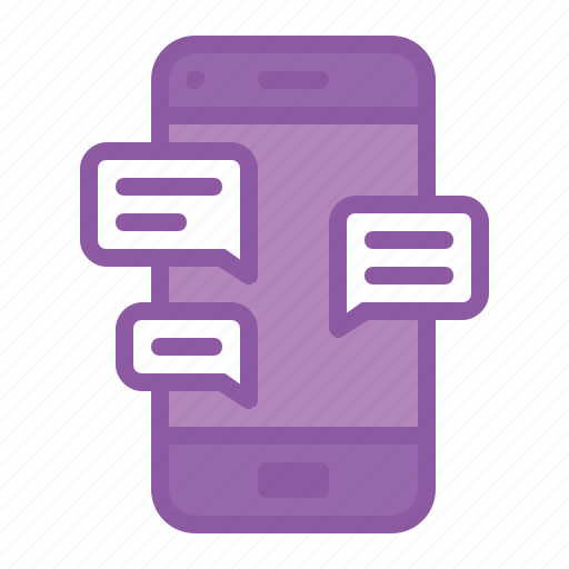 chat, chatting, communication, conversation, mobile icon
