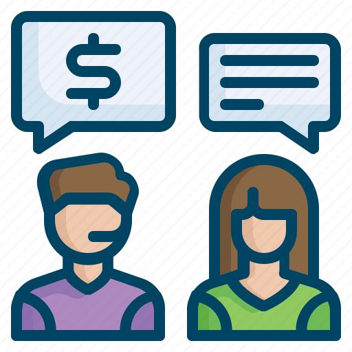 care, customer, discussion, help, price, service, support icon