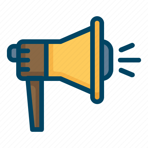 advertising, marketing, megaphone, promotion, speaker icon
