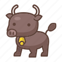 animal, bison, buffalo, bull, cow, horn, mammal icon