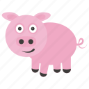 animal, boar, mammal, pig, tapir icon