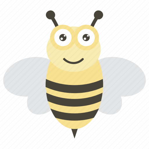 bee, bee hive, bumblebee, honey bee, insect icon