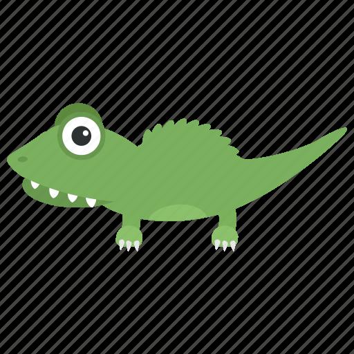 Crocodile, crocodylidae, large reptile, lizard, wildlife icon - Download on Iconfinder
