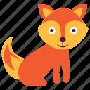 animal, coyote, fox, wild, wolf
