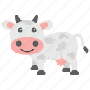 animal, calf, cattle, cow, farm icon