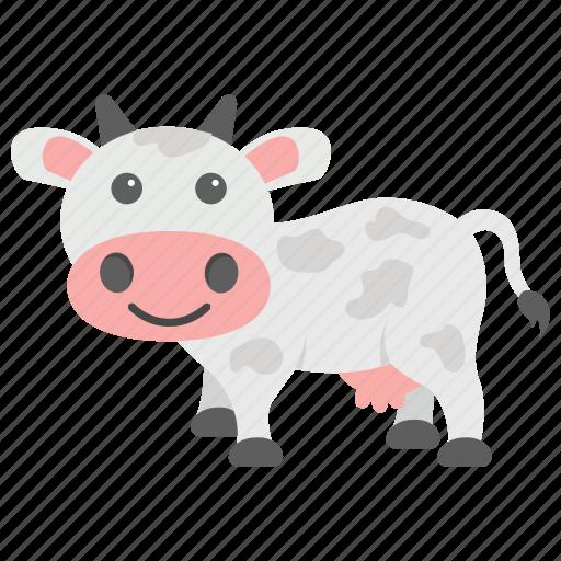 animal, calf, cattle, cow, farm icon