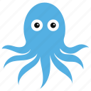 animal, octopus, seafood, squid, tentacle icon