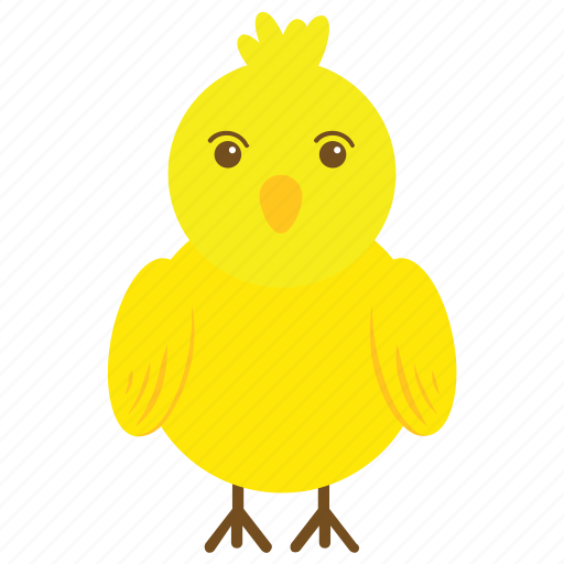 chick, chicken, fowl, hen, rooster icon
