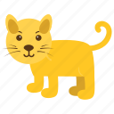 animal, cat, feline, kitty, pet icon