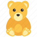animal, bear, mammal, wild, zoo icon