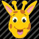 animal, camelopard, forest, giraffe, wild