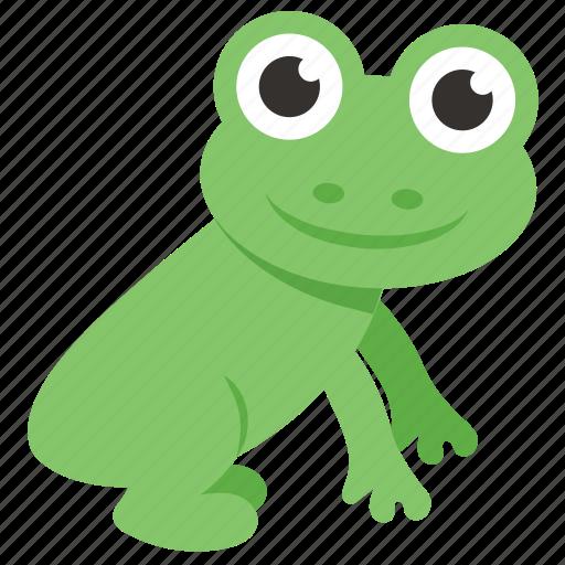 Toad, amphibian, animal, frog, chameleon icon