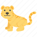 leopard, lion, panthera leo, safari animal, tiger icon