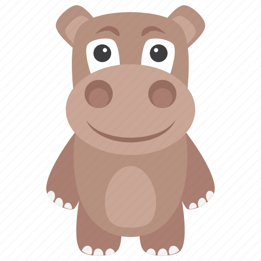 animal, hippo, hippopotamus, mammal, wild animal icon
