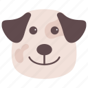 airedale dog, breed, bulldog, dog, pet icon