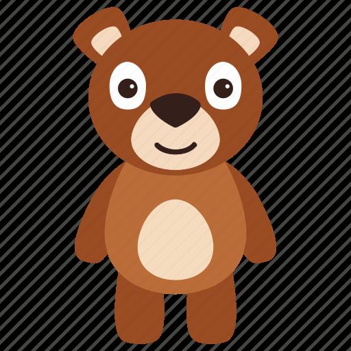 animal, bear, mammal, wild, zoo icon