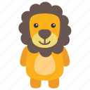 animal, lion, panther, wild animal, zoo icon