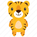 animal, leopard, lion, panthera, tiger icon