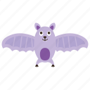 bat, dreadful, evil bat, fearful, scary icon