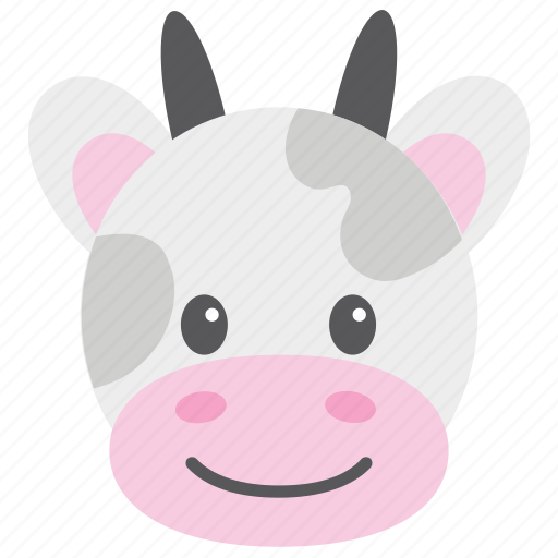 Animal, calf, cattle, cow, farm icon - Download on Iconfinder