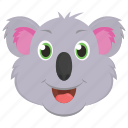 wombat, koala, animal, bear, wallaroo
