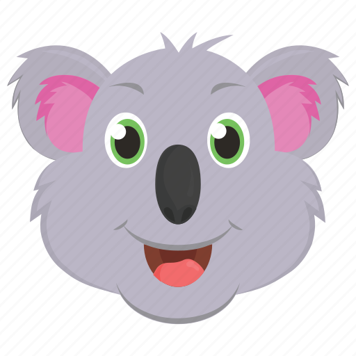 Animal, bear, koala, wallaroo, wombat icon - Download on Iconfinder