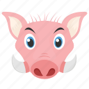 boar, mammal, tapir, animal, pig