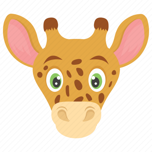 animal, camelopard, forest, giraffe, wild icon