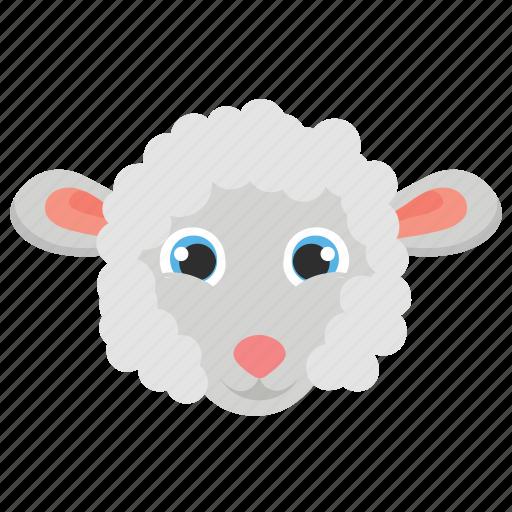 animal, ewe, farm, lamb, sheep icon