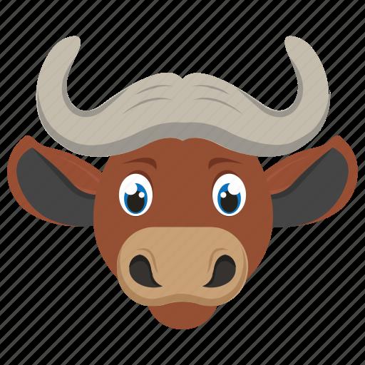 Animal, bovine, buffalo, bull, ox icon - Download on Iconfinder