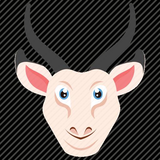 Animal, deer, elk, reindeer, reindeer head icon - Download on Iconfinder