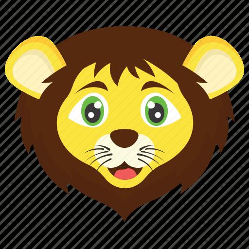 animal, lion, panther, wild animal, zoo icon