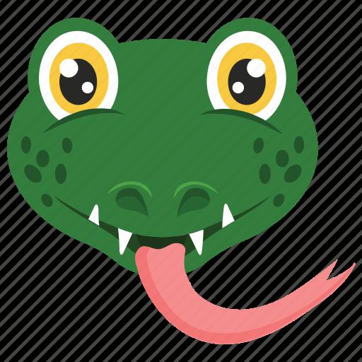 animal, reptile, serpent, snake, viper icon