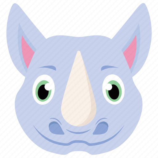 Animal, jungle, rhino, rhinoceros, wildlife, zoo icon - Download on Iconfinder