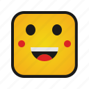 emoji, emoticon, emotion, face, smiley