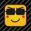 emoji, emoticon, emotion, face icon