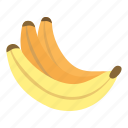 banana, fruit, healthy, fresh, diet, background, food