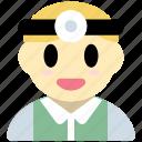 doctor, man, avatar, hospital, medical
