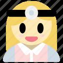 doctor, woman, avatar, hospital, medical