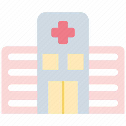 Hospital, medical, healthcare, clinic, building icon - Download on Iconfinder