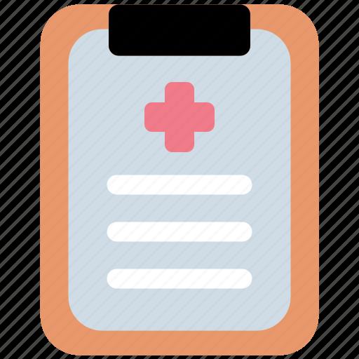 Medical, report, healthcare, medicine icon - Download on Iconfinder